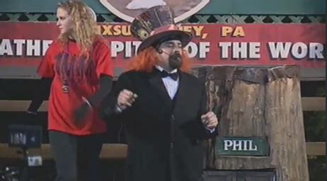 groundhog day celebration breaking punxsutawney phil says there will be 6 more