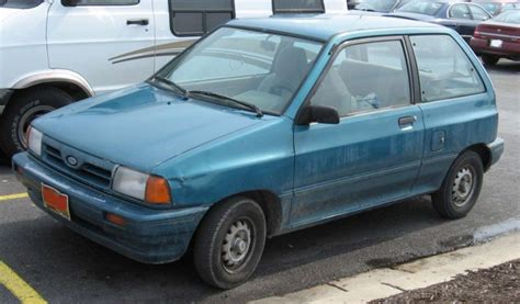 1991 ford festiva 1991 ford festiva information and photos zombiedrive