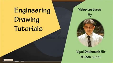 engineering drawing tutorials module  projection youtube