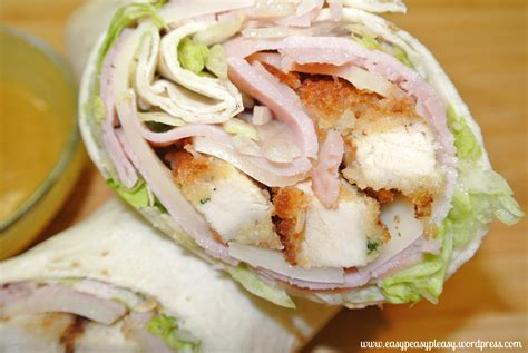 chicken cordon bleu wraps   double duty meal idea