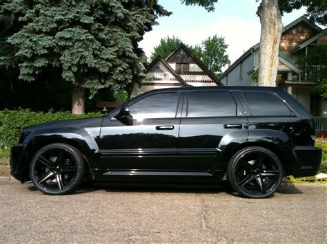2010 Jeep Grand Black Rims Jeep Grand Srt8 Black Rims For Sale