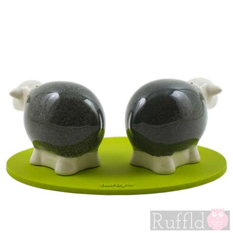 adding grey to salt and pepper sheep salt and pepper shakers in grey