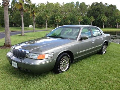 how to sell used cars 1999 mercury grand marquis transmission control sell used 1999 mercury grand marquis gs sedan 4 door 4 6l