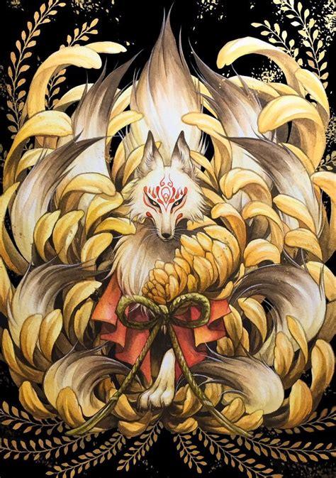 九尾の狐 のおすすめアイデア 25 件以上 pinterest deviantart クジャクのタトゥー