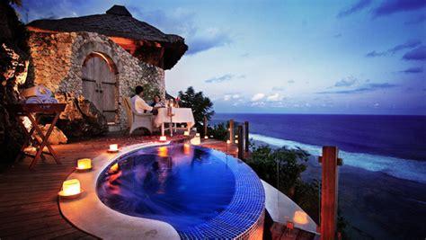 luxurious beach resorts  kandara bali travel