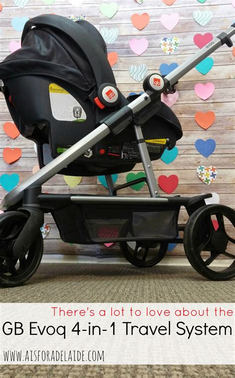 Gb Stoller Travel System gb evoq 4 in one gbthatsme a is for adelaide and