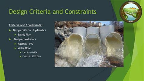 design criteria and constraints kevin kraus saint francis university environmental
