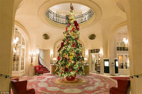 top ten hotel lobby christmas decorations top hotels around the world and their extravagant decorations daily mail