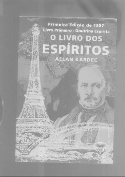 1ª Edição do livro dos Espiritos - 1857 - Introdução