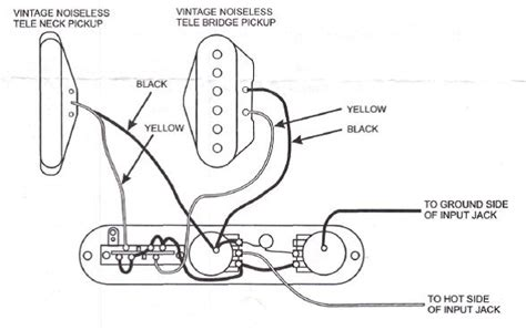wiring diagram for fender telecaster wiring diagram for