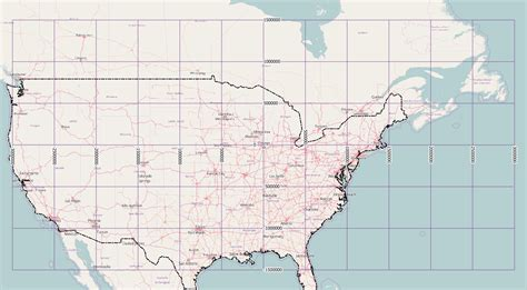 printable us map with latitude and longitude and cities us maps longitude latitude united states map with latitude