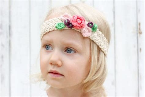 crocheted floral headband 183 how to stitch a knit or crochet baby headband patterns and easy tutorial