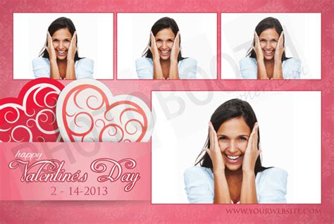 breeze photo booth layout valentine s crush photo booth templates breeze photoboof