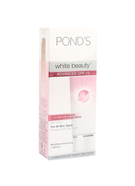 Pelembab Wajah Pond S Ponds Pelembab Wajah Day Advanced Spf 15 Tub 40g