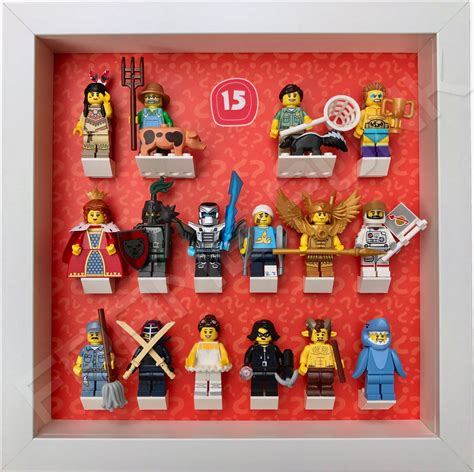 lego minifigures series 15 display frame frame