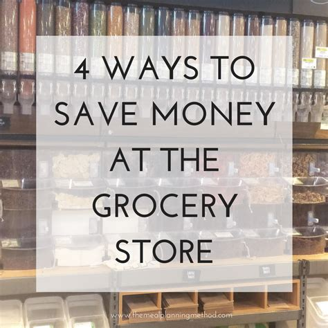 save major time and money with this grocery list template 4 ways to save money at the grocery store the meal