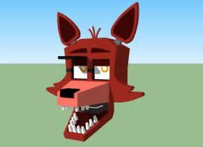 Lego fnaf foxy fnaf 1 foxy wip by