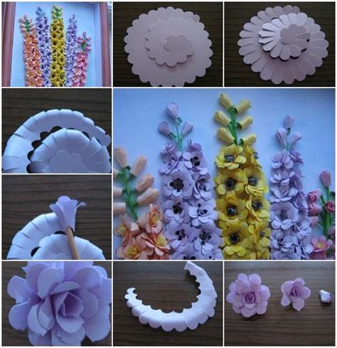 Craft Work Paper Flowers - awesome craft work paper flowers photos images for