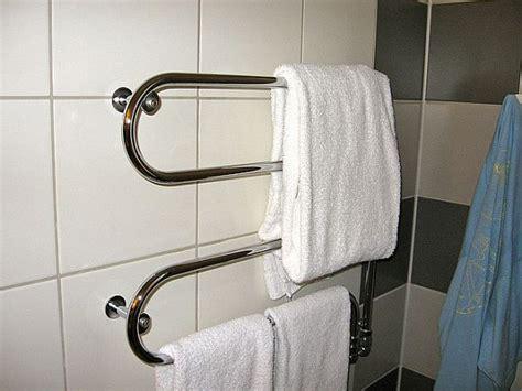 towel rack heater bathroom installing a heated towel rack