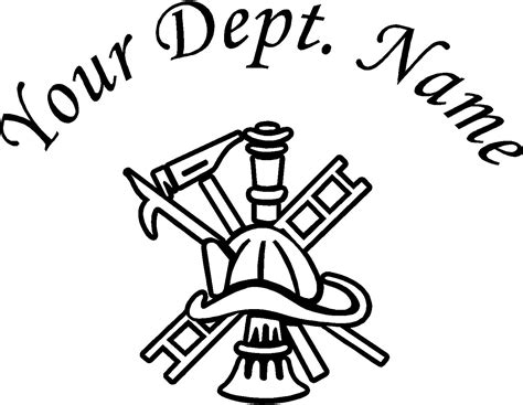 firefighter equipment clipart black and white clipart