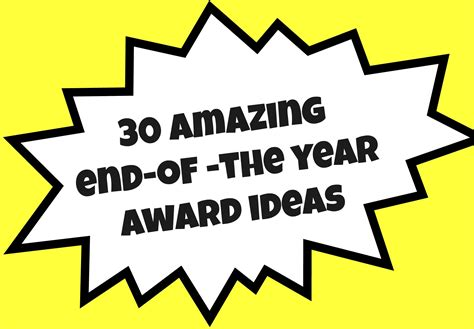 30 30 Awards The Swagtime by 30 Amazing End Of The Year Award Ideas Created Tips