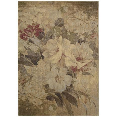 somerset floral area rug 5 6 quot x 7 5 quot 6305759 hsn