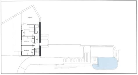 frank lloyd wright falling water floor plan architecture photography guestplan2 60113