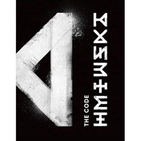 Monsta X The Code monsta x the code 5th mini album de code ver cd