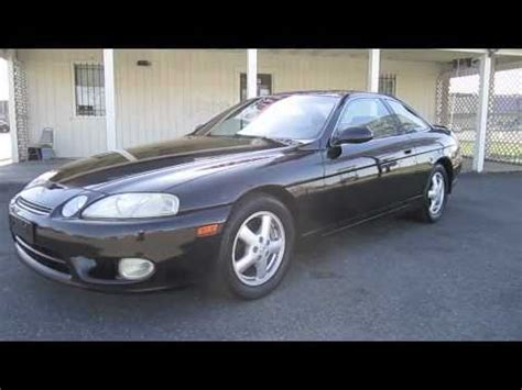 lexus sc430 1999 1999 lexus sc300 start up exhaust and in depth tour