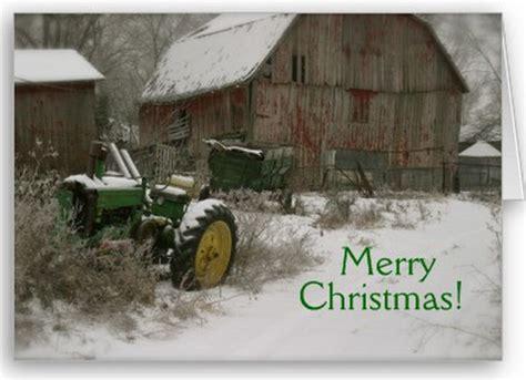john deere christmas card tractor christmas cards