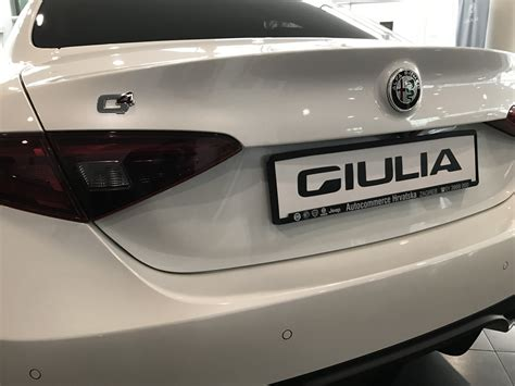 alfa romeo giulia cijena stigla je alfa romeo giulia veloce novi automobili na