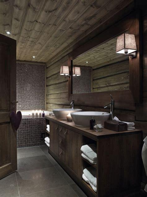 lodge style bathroom hytte bad interi 248 rmagasinet no hytte pinterest dark