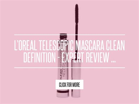 Loreal Telescopic Mascara Clean Definition Expert Review l oreal telescopic mascara clean definition expert