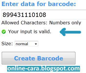 4 cara membuat barcode sendiri secara mudah cara membuat barcode secara online cara online