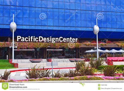 design center usa pacific design center in los angeles editorial photo