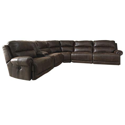 bradley sectional sofa bradley 6 pc power reclining sectional sofa wg r
