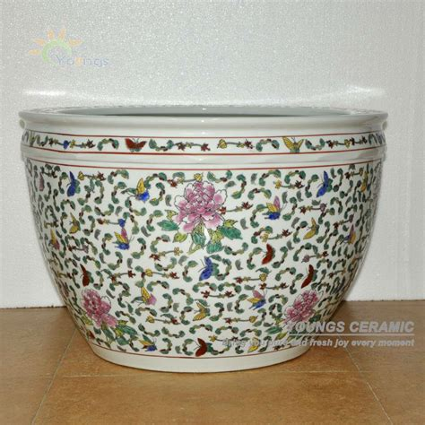 planting pots for sale sale large chinese famille rose ceramic plant flower pots