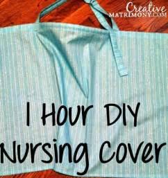 diy nursing cover up free pattern tutorial review