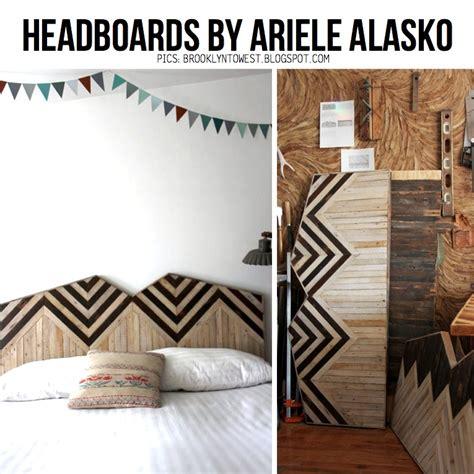 scrap wood headboard diy chevron wood ideas 10 diy ideas for the home
