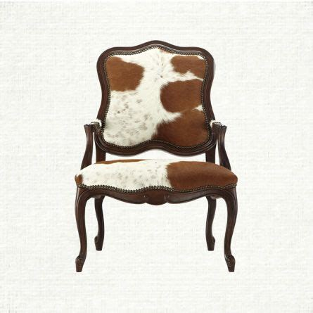 Cowhide Dining Chair Hide Dining Arm Chair Arhaus Cowhide Decor My Style Pinboard
