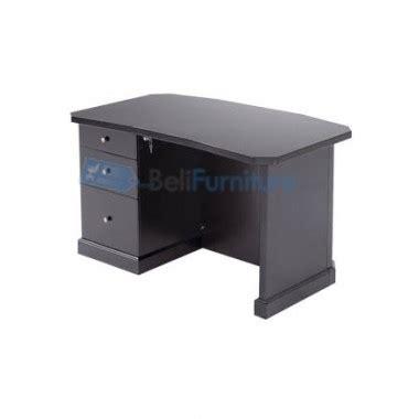 Meja Kantor Indachi indachi exclusive meja kantor 1 2 biro 130 cm meja kantor murah bergaransi dan lengkap