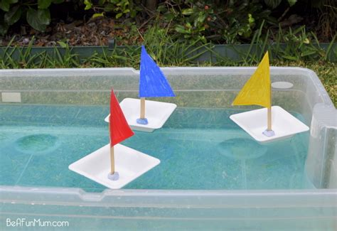 how to make a paper boat that doesn t sink plastic bowl boat be a fun mum