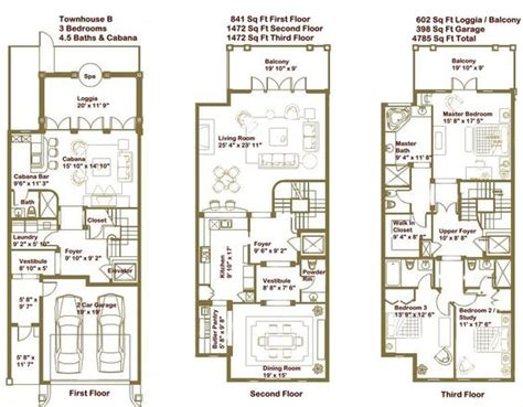 luxury townhomes floor plans luxury townhome floor plans google search home