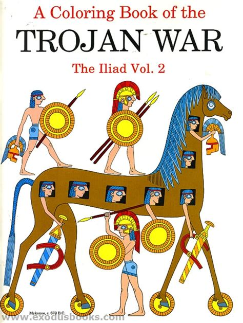 combust the everyday heroes volume 2 books coloring book of the trojan war the iliad vol 2 exodus