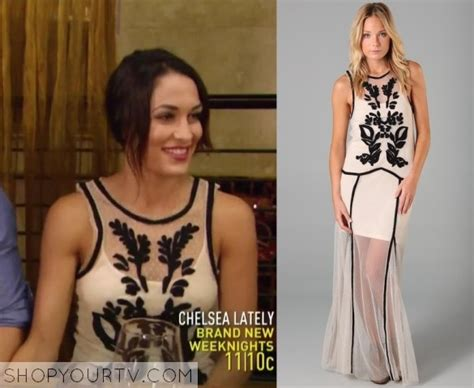 brie bella x factor wwe total divas season 1 episode 6 brie s maxi dress