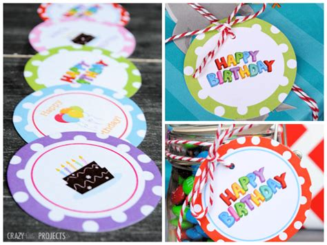 free printable birthday gift tags uk 10 free printables you can t live without party