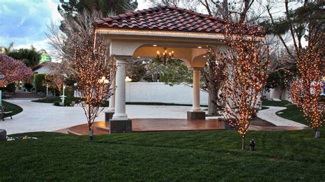 Sunset Garden by Garden Room Garden Wedding Venues In Las Vegas Sunset
