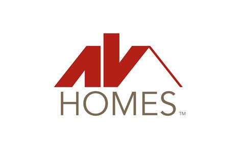 home design logo free av homes closes on north peoria p e lots courtland homes