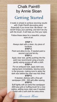 chalkboard paint directions chalk paint tips for beginners borstar nantucket och wax