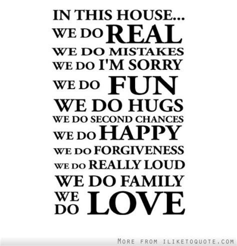 In This House We Do by In This House We Do Real We Do Mistakes We Do I M Sorry